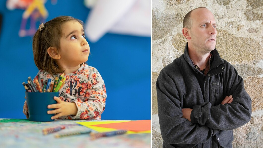 Anders Ek er virksomhetsleder i Fossen barnehager i Sarpsborg.