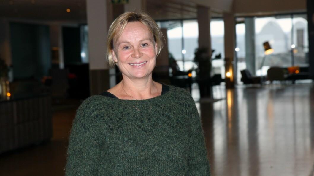Barnehagelærer Charlotte Clausen var på konferansen Matematikk i barnehagen i regi av Matematikksenteret for å fortelle om hvordan hun og kollegene i Lønnås barnehage jobber med realfag i barnehagehverdagen.