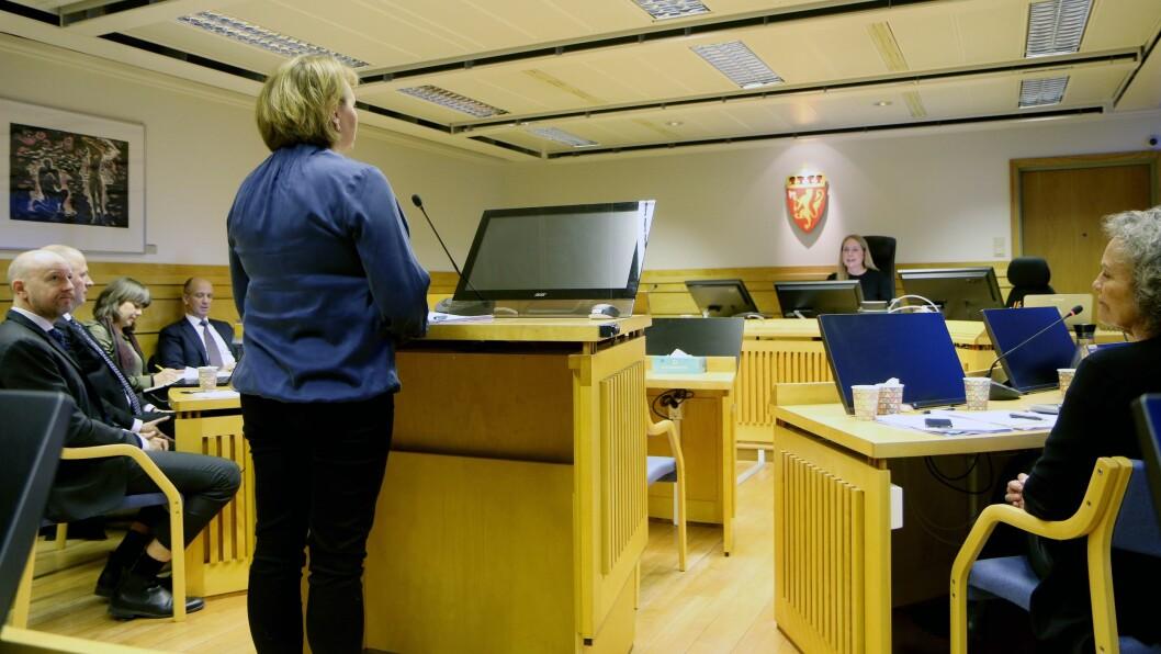 To dager var satt av til å forhandle om Gnist Trøa skal få fortsette å holde åpent etter 1. mars eller ikke. Her er det May Liss Tobiassen, direktør for Nasjonalt kunnskapssenter for barnehager, som forklarer seg for retten.