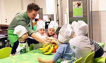 Mesterkokkens tips for å redusere matsvinn i barnehagen