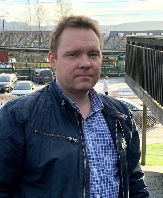 Tommy Larsen, daglig leder i Stenrød barnehage.