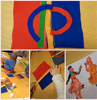 """<span class=""""italic"""" data-lab-italic_desktop=""""italic"""">Vis frem det samiske flagget og snakk om symbolikken, foreslår Birgit Andersen.</span>"""