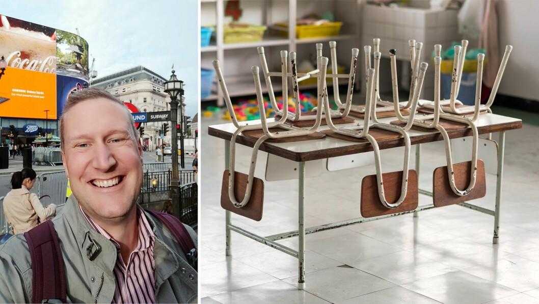 Kim Aleksander Mo er barnehagelærer  og gründer i Ped Opp Vestfold.