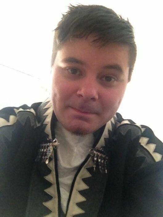 Stigo Holm, Samisk barnehagelærerstudent, Sámi allaskuvla/ Samisk høgskole.