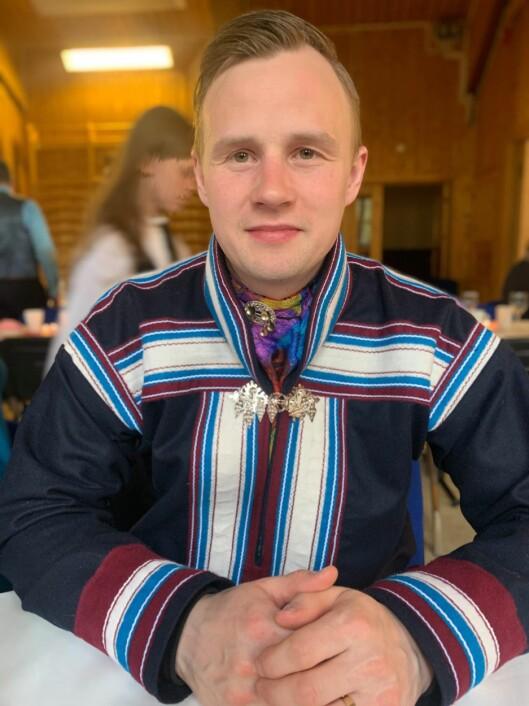 Johan Eivind Gaup, Samisk barnehagelærerstudent, Sámi allaskuvla/ Samisk høgskole.
