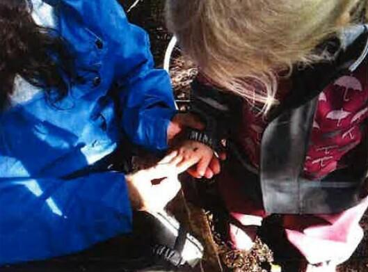Bjørnestien barnehage har ønsket å skape turglede og engasjement for naturen blant de aller yngste barna.