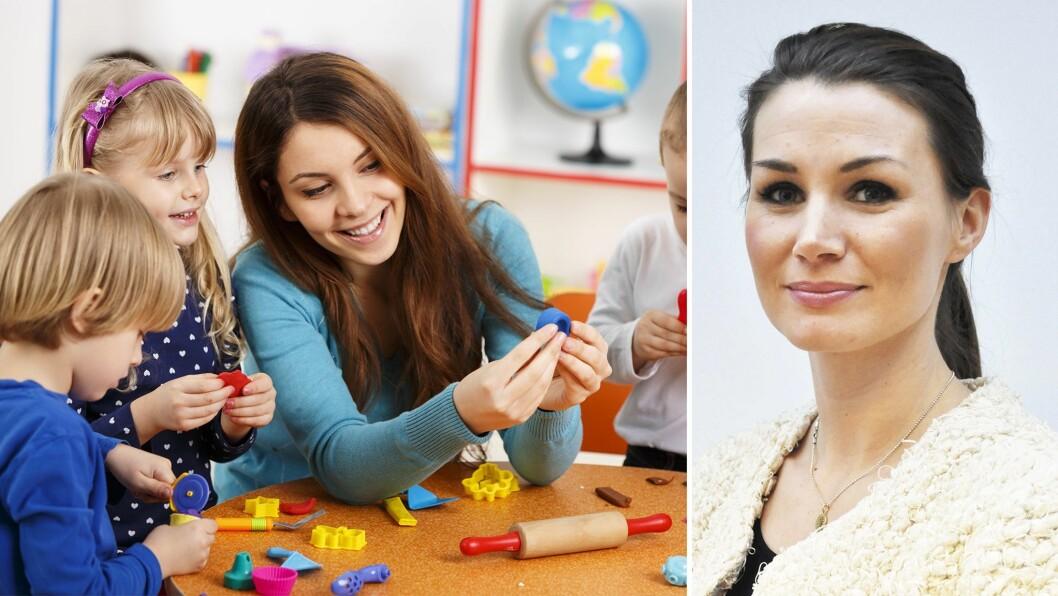 Cecilie Evertsen-Stanghelle er i gang med sin doktorgrad. Nå vil hun blant annet se på de voksnes betydning for kvalitet i barnehagen.