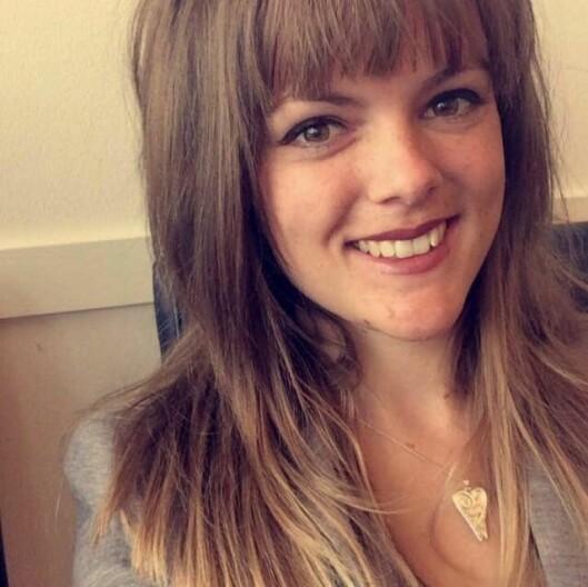 Mia Kamilla Strømblad tar barnehagelærerutdanningen på deltid ved Høgskulen på Vestlandet, Campus Bergen.