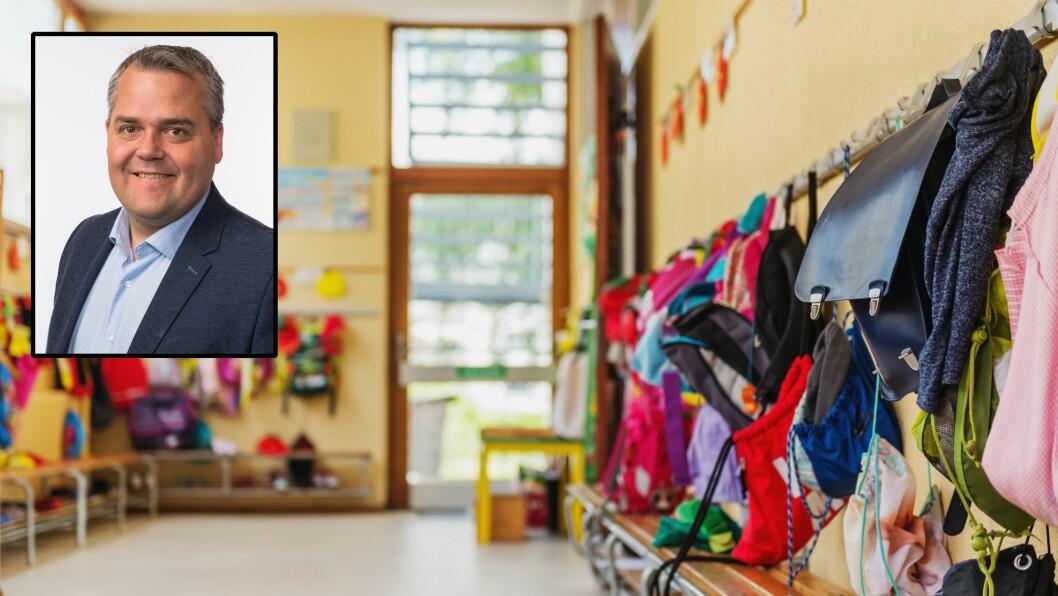 – Dette er hull som er nødt til å tettes. Alle foreldre skal være trygge på at de ansatte i barnehagen og skolen ikke utgjør noen trussel mot barna, sier leder for Utdannings- og forskningskomiteen på Stortinget, Roy Steffensen (Frp).