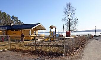 Barnehagens uteområde blir anleggsplass – må legge ned