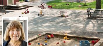 Hvordan skaper man gode uteområder i barnehagen? Her er forskernes anbefalinger