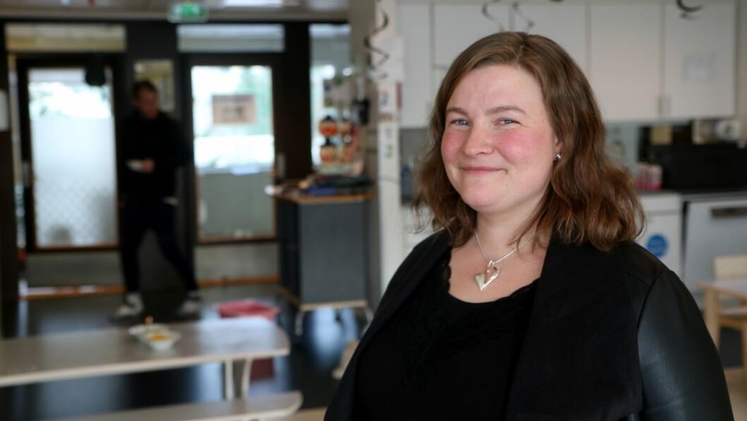 Elin-Kristine Skjærvø er leder i Gnist Trøa.