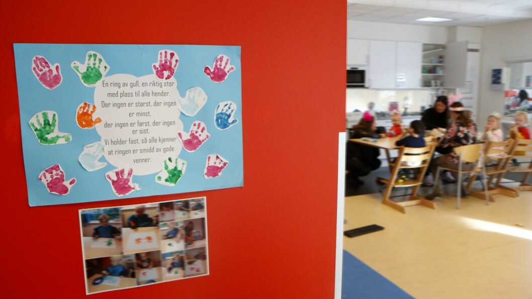 De ansatte i Gnist Trøa har jobbet mye med det fysiske miljøet i barnehagen.