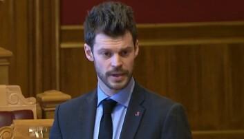 Bjørnar Moxnes har kommet med et representantforslag.