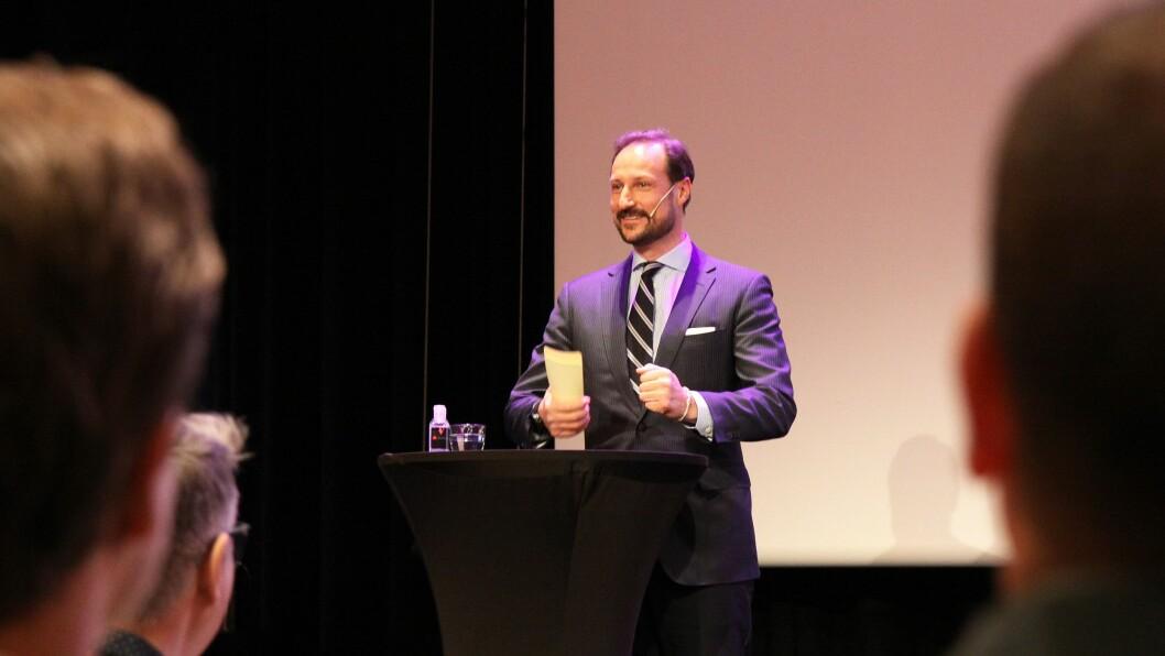 – Å høre til, å være inkludert, er noe helt grunnleggende i livet, sa kronprins Haakon da han åpnet Statpedkonferansen.
