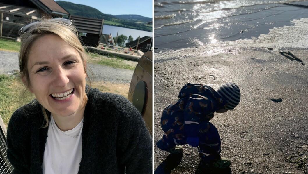 Anna Skagefjord Höglind jobber i Nordby Gardsbarnehage på Jevnaker.