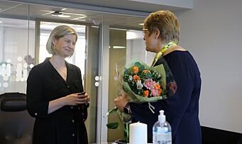 Guri Melby ny kunnskapsminister: – Dette er en veldig spesiell dag å bli utnevnt til statsråd