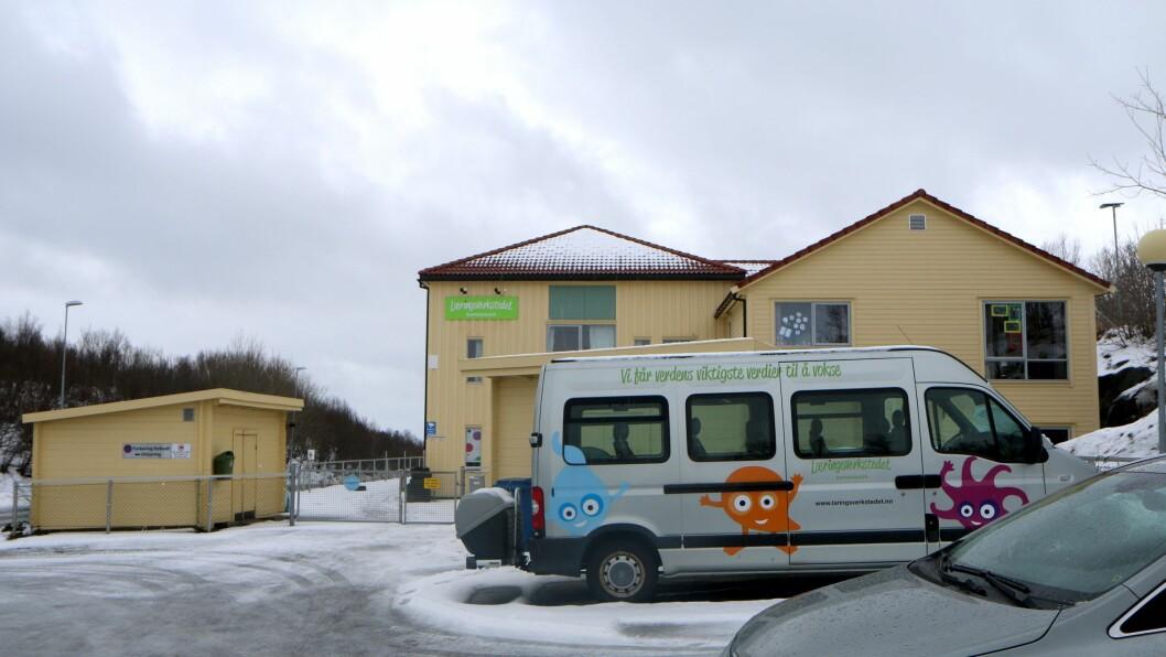 Det var stille i Læringsverkstedet Bodøsjøen Naturbarnehage i dag, med bare fem av barna på plass.