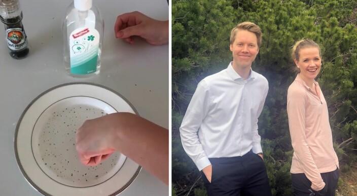 Video: Viser barna hvorfor det er viktig å vaske hendene med såpe