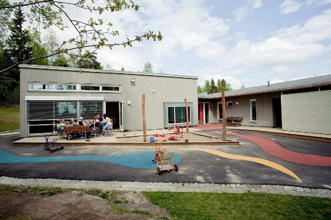 Norlandia Gaustadskogen barnehage var tidligere eid av Rikshospitalet, og mange av foreldrene jobber ved sykehuset.