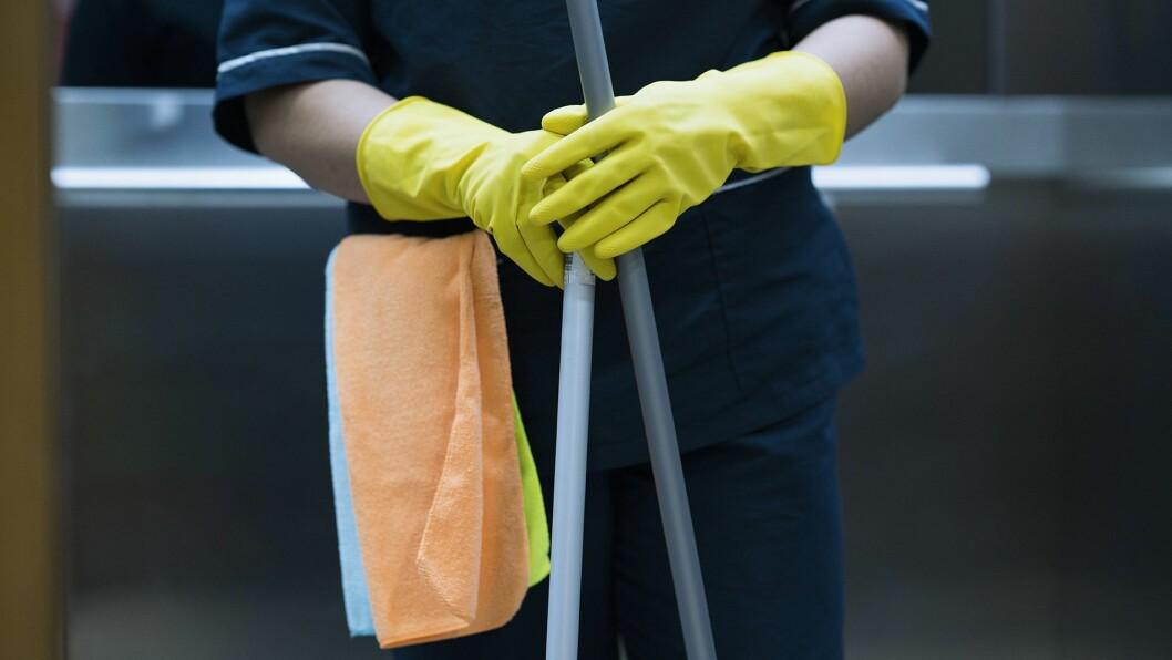 Godt renhold er viktig.