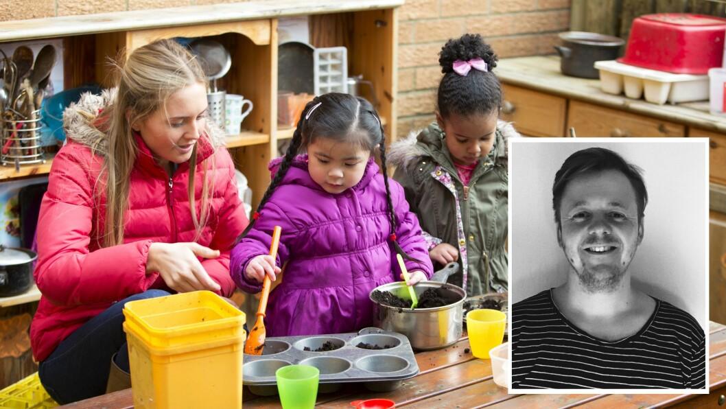 «Barna mine gleder seg hver dag til å gå i barnehagen. Inn døren til avdelingen sin; inn til sitt andre hjem,» skriver artikkelforfatteren.