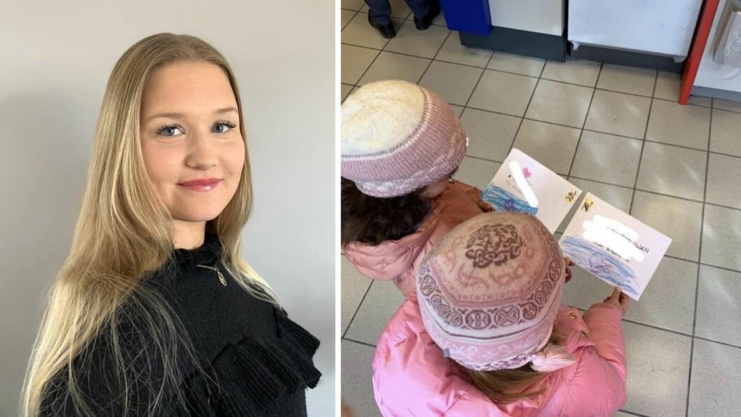 Elise Wagner Finnanger (26) gikk linjen flerkulturell forståelse ved DMMH. Hun fikk årets æresstipend opprettet av kong Haakon VII i 1954.