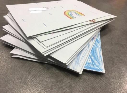 Alle brevene vi sendte.