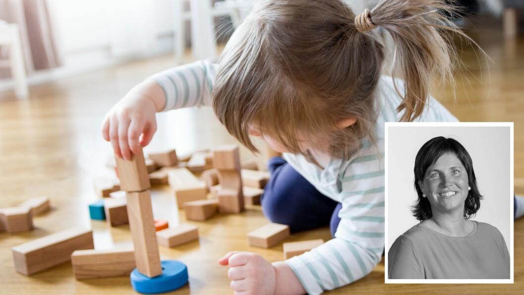 «Jeg fikk i forrige uke spørsmål som: «Hvor er alle barna? Har alle fått Korona? Har mammaene og pappaene dems fått Korona? Må ikke alle voksne jobbe?» skriver artikkelforfatteren.