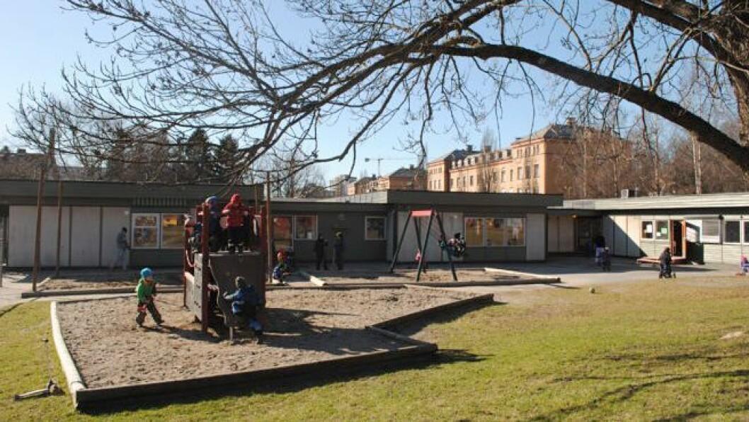 Trollstua Kanvas-barnehage er en av sju som ligger inne på området til Oslo universitetssykehus, avdeling Ullevål.