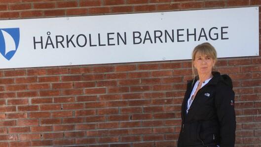 Styrer Minda Borø i Hårkollen barnehage.