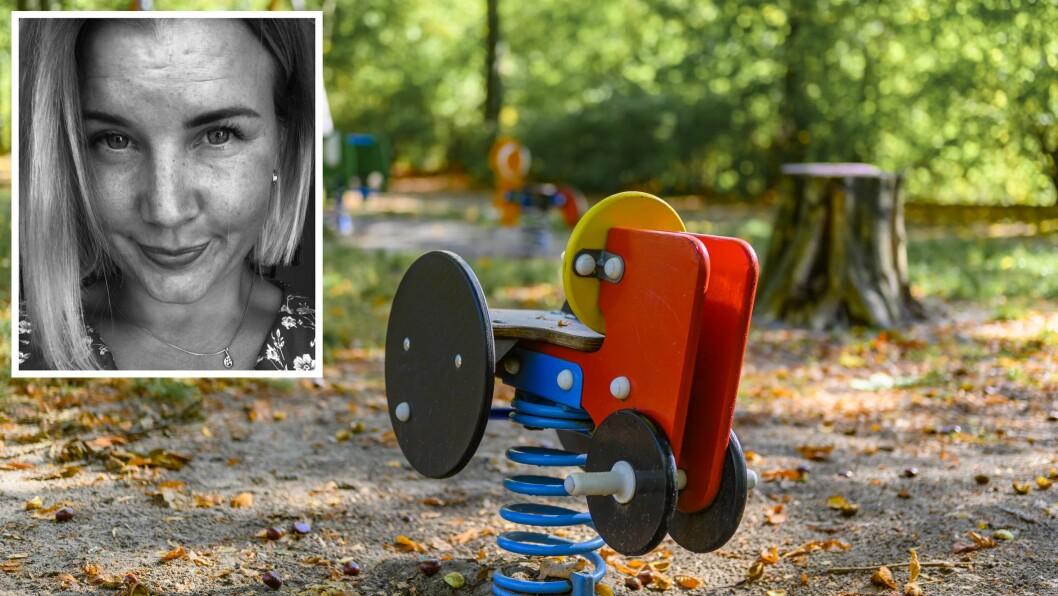 «De fleste står utenfor gjerdet til barnehagen akkurat nå, men det betyr ikke at avstanden må forbli stor,» skriver artikkelforfatteren.