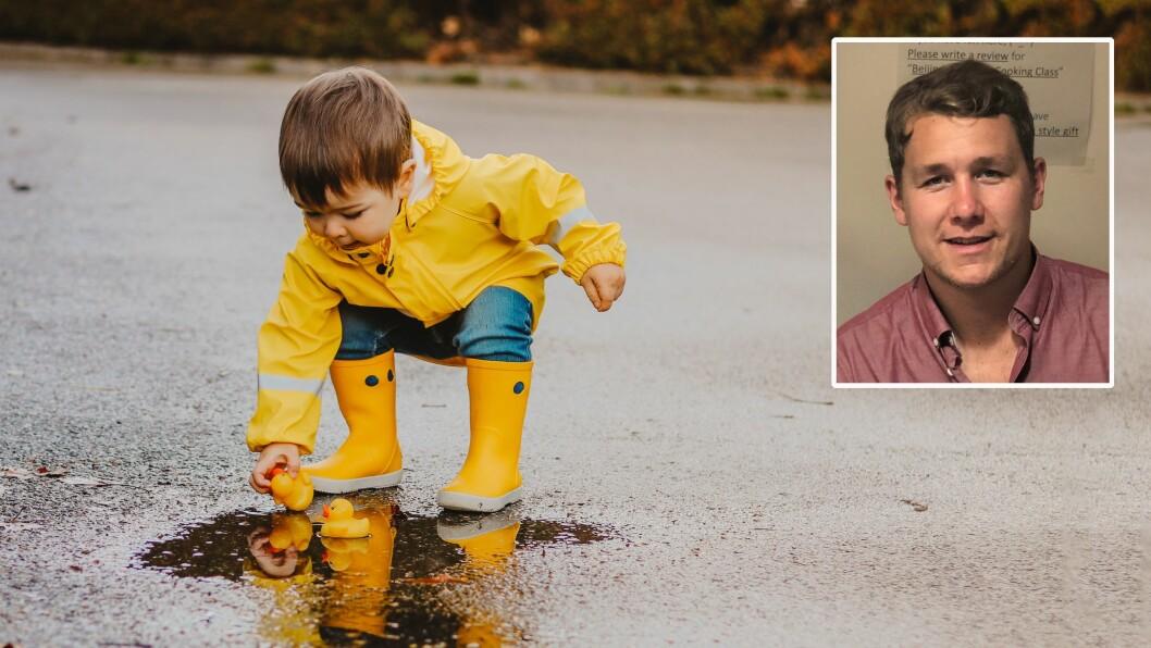 Barnehagelærer Thomas Antonsen skriver om barn og lek.