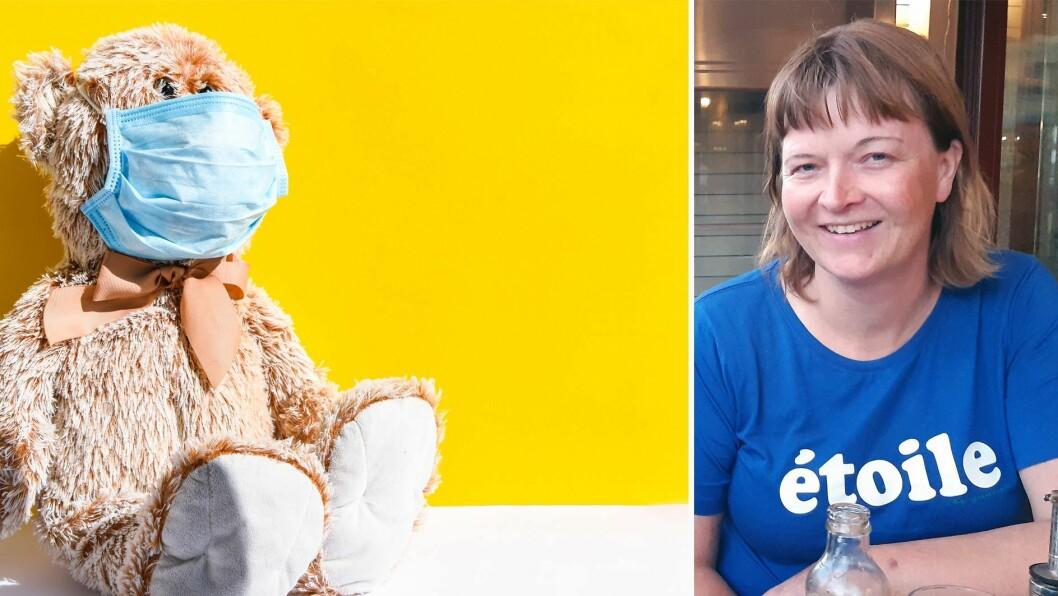 – Personalet må ikke være redde for å ta på barna, for vi kan ikke lage gode, trygge barnehager for barn uten å kunne ta i dem. Vi må kunne klemme på, blåse på og trøste dem, skriver pedagogisk leder Toril Kalsås.