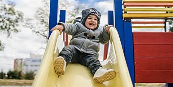 Norge er blant landene med størst andel barn i barnehage