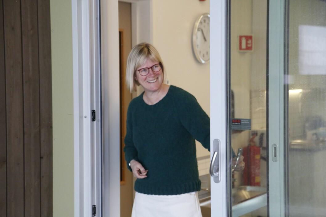 Barnehageleder Beret Rørvik gleder seg til å kunne ta imot barna igjen på mandag.