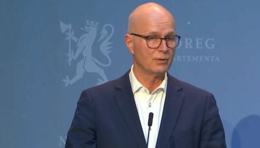 Helsedirektør Bjørn Guldvog.