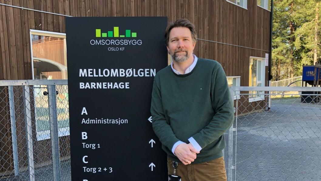 – Vi ber foreldre sette av god tid til levering første dag. Vi oppfordrer også foreldre til å snakke med barna i forkant, sier leder Espen Wiik i Mellombølgen barnehage i Oslo.