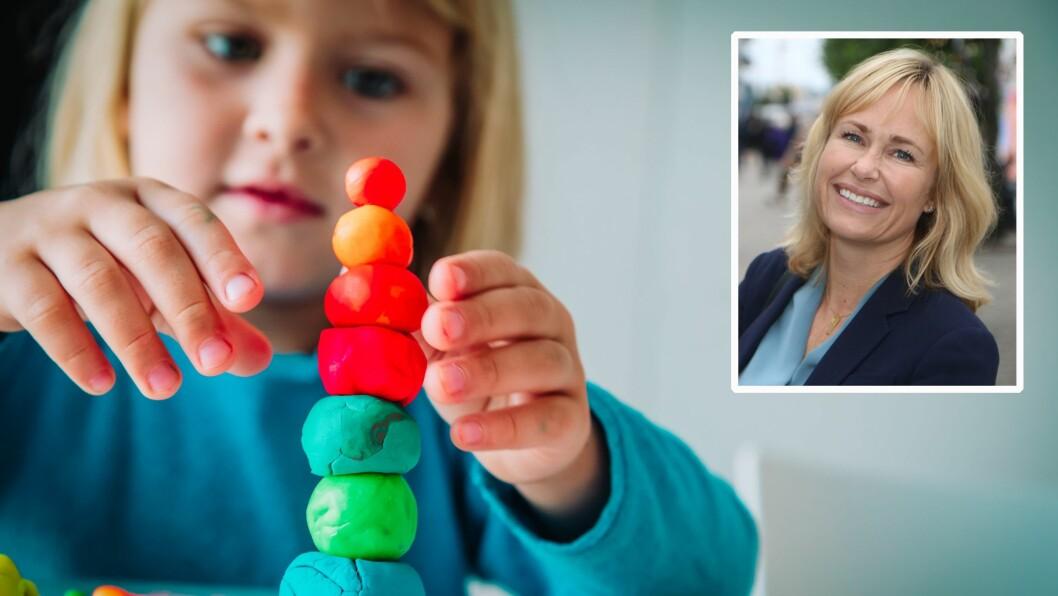 Administrerende direktør Anne Lindboe i PBL konstaterer fornøyd at de private barnehagene er godt i rute før åpning.