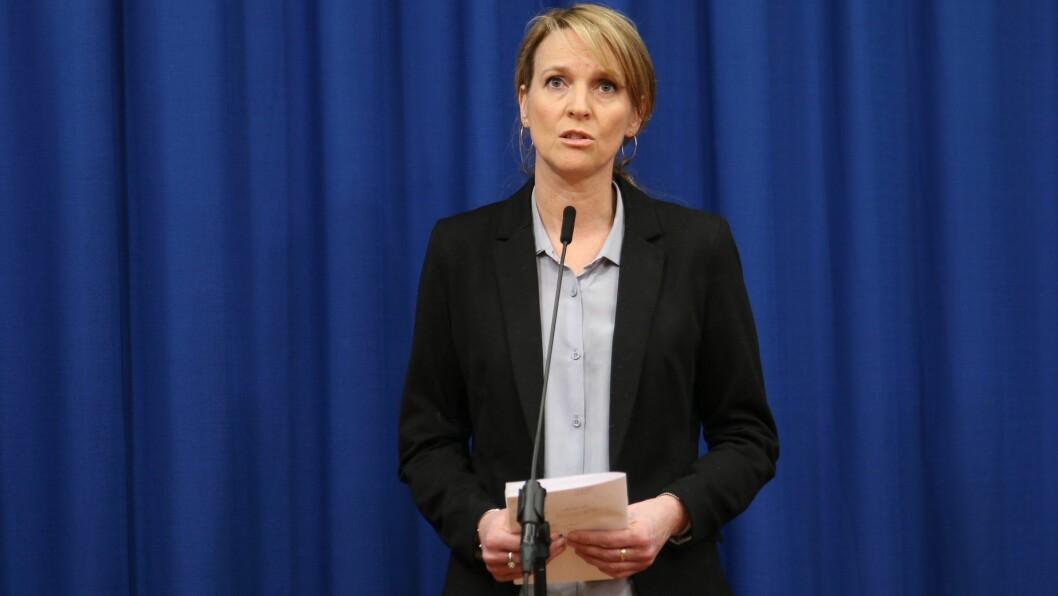 Line Vold er avdelingsdirektør ved Folkehelseinstituttet.