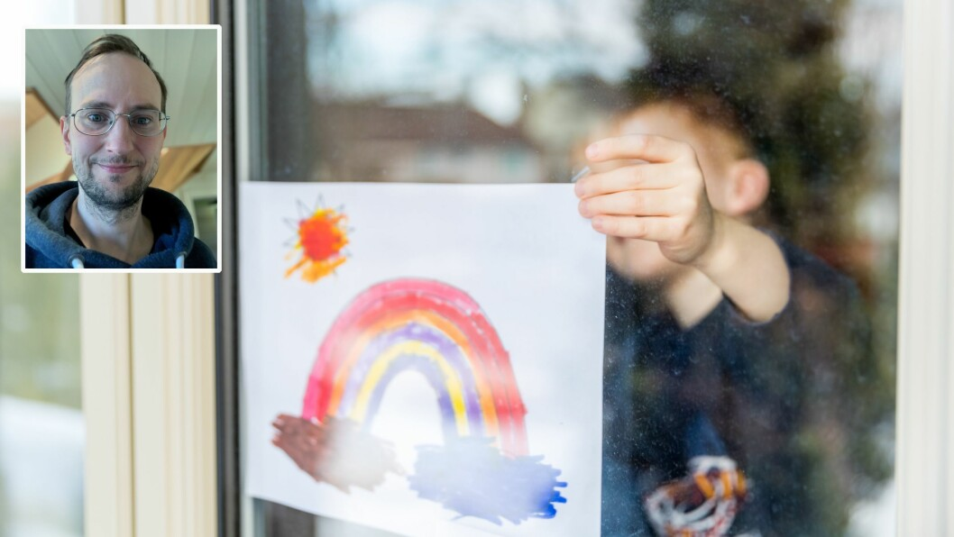 - Jeg trenger ikke si mer til min datter på to år enn at «alt blir bra», og at hun får møte K, A og L igjen, og de andre i barnehagen. Det holder. Dette håpet vil pappa tenne i toåringen, skriver Hans Eskil Vigdel.