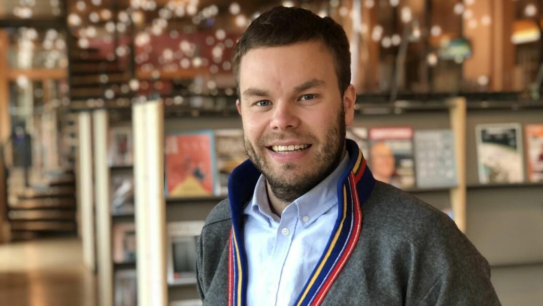 Sametingsråd Mikkel Eskil Mikkelsen.