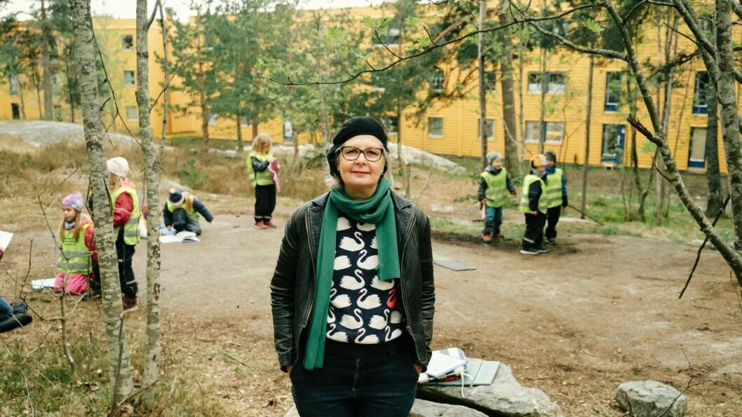 - Skolestart er en stor overgang i livet, en av de første man husker. Det er noe som berører, sier Anna Fiske.