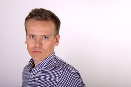 Kommunikasjonsdirektør Marius Iversen i PBL.