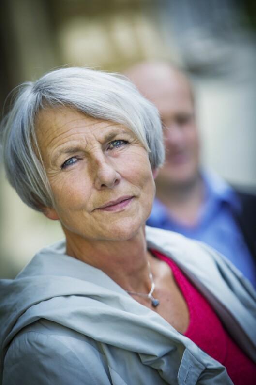Anne Finborud, forbundsleder i Skolenes landsforbund.