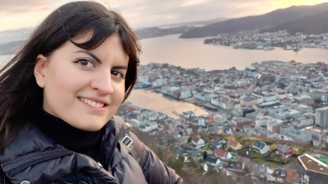Maria Varga, barnehagelærerstudent ved NLA Høgskolen i Bergen.