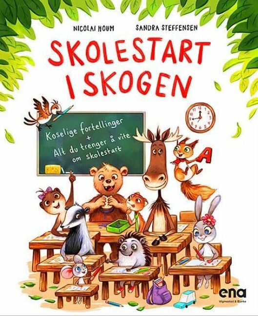 Boka gis ut på Ena – et imprint i forlaget Vigmostad & Bjørke.