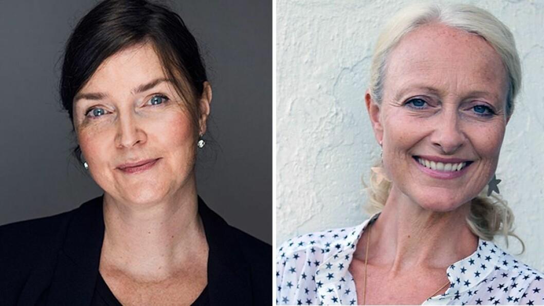 Nora Bilalovic Kulset ved Institutt for musikk på NTNU (til venstre) og Kirsten Halle ved Universitetet i Stavanger har forsket på hva som skal til for at barnehageansatte bruker sangstemmen i barnehagen.