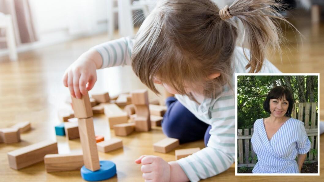 «Fra vi tar imot om morgenen helt til døra låses og vi sier «takk for i dag» ved stengetid. Barna trenger sensitive og varme voksne i barnehagen,» skriver artikkelforfatteren.