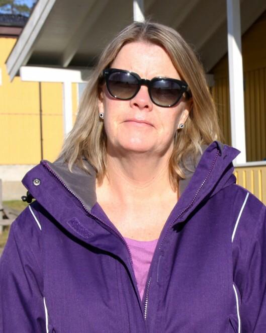 Styrer Ann-Kristin Evans i Sollerudstranda barnehage.